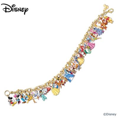 The Ultimate Disney Classic 37-Character Charm Bracelet by