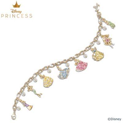 Disney Princess Crystal Charm Bracelet by