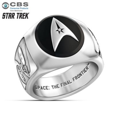 star trek collectors ring - Star Trek Wedding Ring