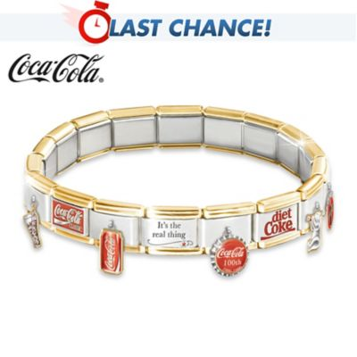 The COCA-COLA Ultimate Italian Charm Bracelet by