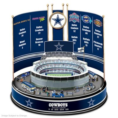 Dallas Cowboys Super Bowl Champions Musical Carousel by
