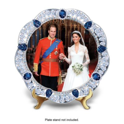 Prince William And Kate Royal Wedding Collector Plate by