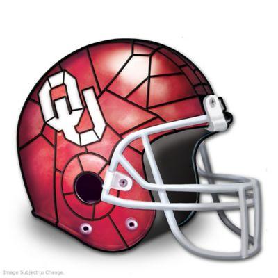 Oklahoma Sooners Officially-Licensed Football Helmet Lamp by