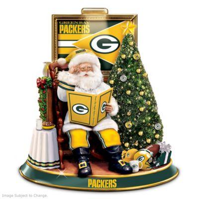 Green Bay Packers Night Before Christmas Talking Santa by