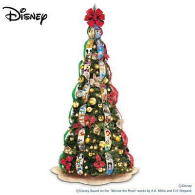 Thomas Kinkade Pull Up Christmas Tree