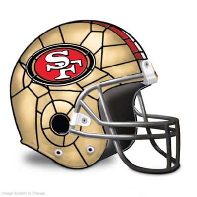 San Francisco 49ers Football Helmet Accent Lamp by