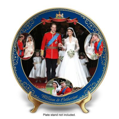 Royal Wedding Commemorative Porcelain Collector Plate by