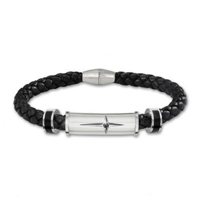"Click here to buy ""Protection And Strength For My Son"" Religious Bracelet."