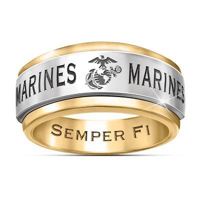 Bradford Exchange Marine Corps Rings