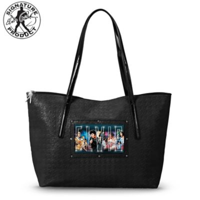 Elvis Tote With Nate Giorgio Art And Sound-Activated Lights by