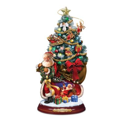 Dona Gelsinger Christmas Tree With Lights, Music And Motion by