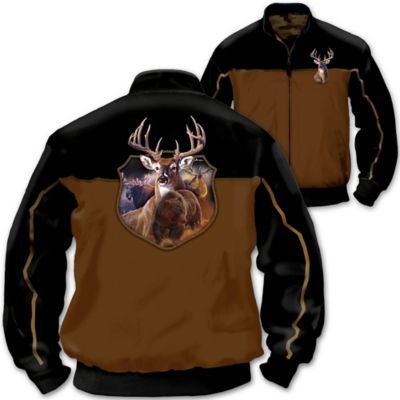 Al Agnew Wildlife Art Men's Reversible Camo Jacket by