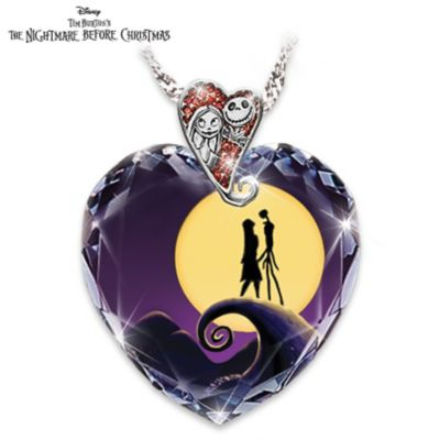 Tim Burton's The Nightmare Before Christmas Pendant Necklace by