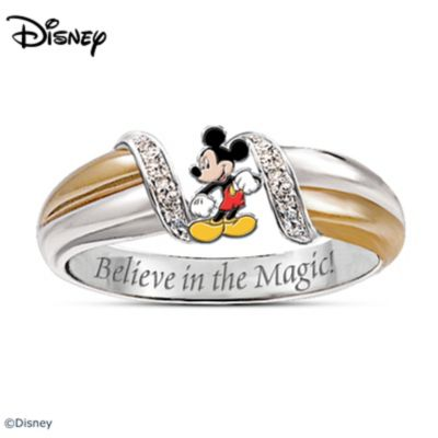 the magic of mickey mouse ring - Mickey Mouse Wedding Ring