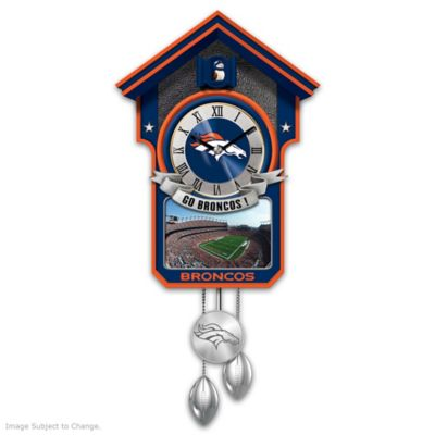 Denver Broncos Tribute Wall Clock by