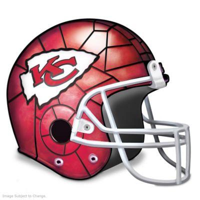 Kansas City Chiefs Football Helmet Accent Lamp by