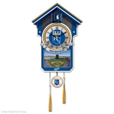 Kansas City Royals Tribute Wall Clock by