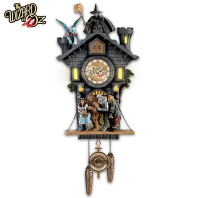 WIZARD OF OZ Wall Clock With Lights, Motion And Sound by
