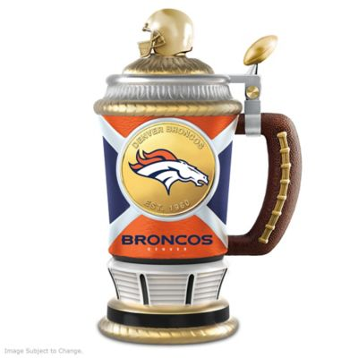 Denver Broncos Commemorative Porcelain Collector Stein by