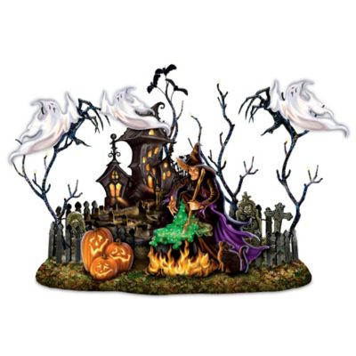 Dona Gelsinger Shadow-Casting Halloween Sculpture With Sound by
