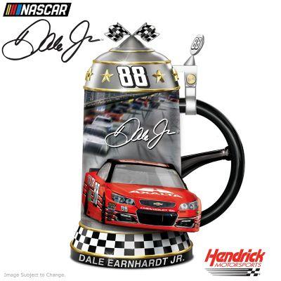 Dale Earnhardt Jr. NASCAR Heirloom Porcelain Stein by