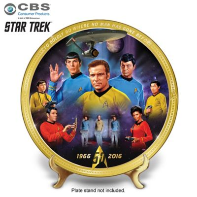 STAR TREK 50th Anniversary Premiere Collectible by