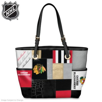 Chicago Blackhawks® Fashion Tote With Team Logos by