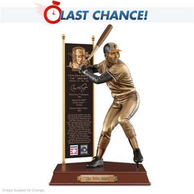 CAL RIPKEN JR. Baltimore Orioles Cold-Cast Bronze Sculpture by