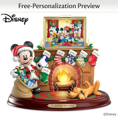 Disney Personalized Sculpture With Names, Light And Music by