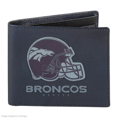Denver Broncos RFID Blocking Leather Wallet by