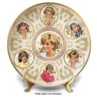 Princess Diana 55th Birthday Porcelain Collector Plate by