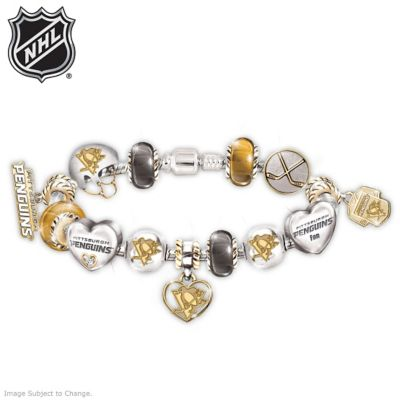 Penguins® Charm Bracelet With Swarovski Crystal by