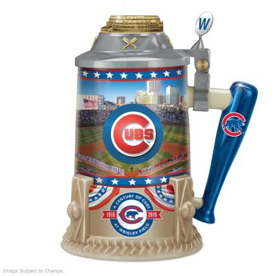 Cubs At Wrigley Field 100th Anniversary Commemorative Stein by