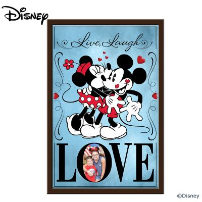 Disney Live, Laugh, Love Picture Frame Wall Decor by