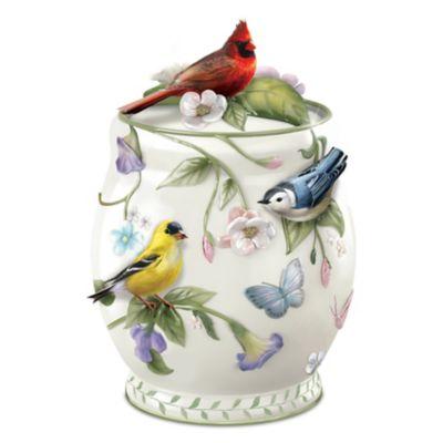 Songbird Delights Cookie Jar by
