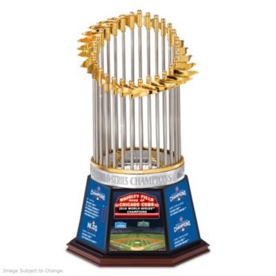 Cubs 2016 World Series Champions Commemorative Trophy by
