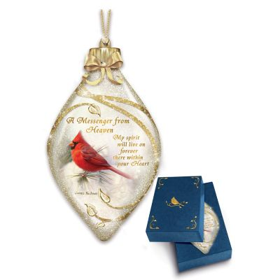 Messenger From Heaven Ornament by