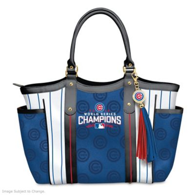 Chicago Cubs 2016 World Series Champions Tote Bag by