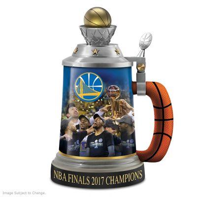 Golden State Warriors 2017 NBA Finals Champions Stein by
