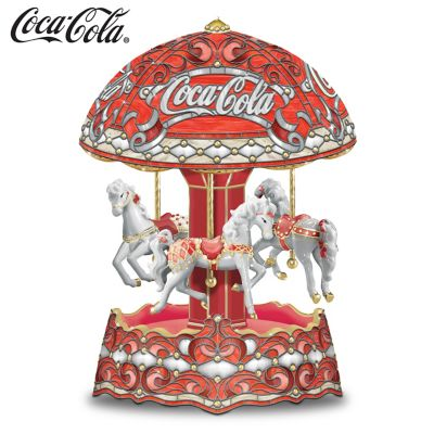 COCA-COLA Musical Carousel by