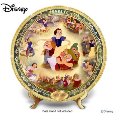 Snow White And The Seven Dwarfs 80th Anniversary Plate by