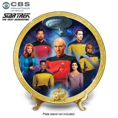 STAR TREK: The Next Generation Commemorative Collector Plate by