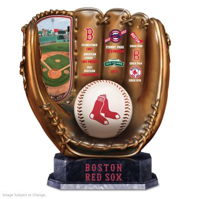 Boston Red Sox Tribute Cold-Cast Bronze Glove by