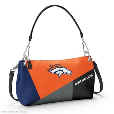 Denver Broncos Convertible Handbag by