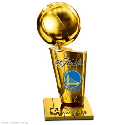 Golden State Warriors 2017 NBA Finals Champions Trophy by