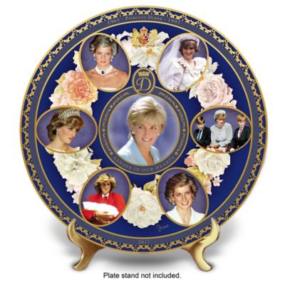 Princess Diana 20th Anniversary Porcelain Collector Plate by