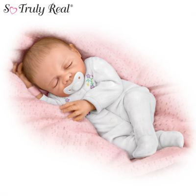 Cherish Collectible Lifelike Vinyl Baby Doll So Truly Real