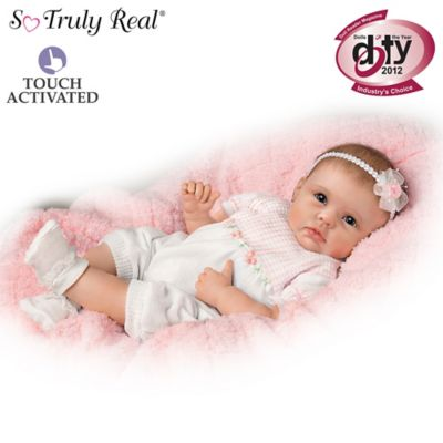Lifelike Interactive Baby Doll Really