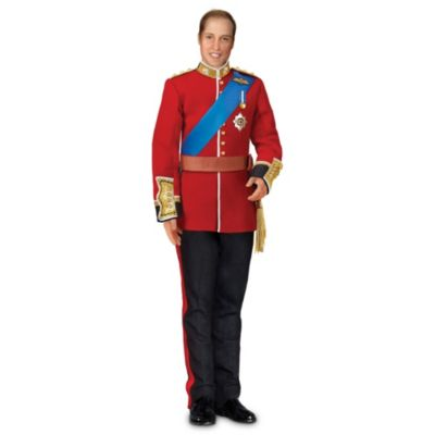 Prince William Royal Wedding Commemorative Porcelain Doll by