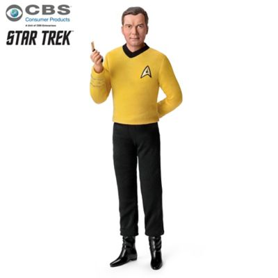 STAR TREK Captain Kirk Figure Talks And Plays Music by